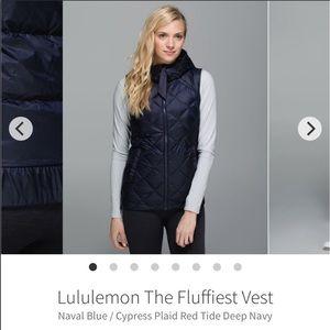 lululemon athletica Jackets & Coats - Lulu Fluffiest Vest size 8